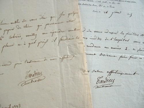 Des exemplaires coloriés sur papier de Chine proposés par le graveur Ambroise Tardieu.. Ambroise Tardieu (1788-1841) Graveur et éditeur d'estampes, ...