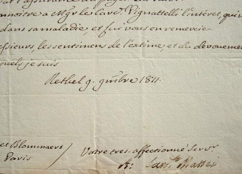 Le cardinal Mattei se fait payer.. Alexandre Mattei (1744-1820) Cardinal italien, il signa avec Bonaparte le traité de Tolentino mais, refusant ...