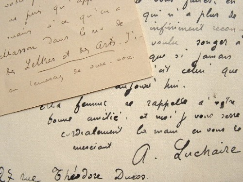L'historien Achille Luchaire, humaniste comblé.. Achille Luchaire (1846-1906) Historien médiéviste et philologue, membre de l'Ac. des sciences morales ...