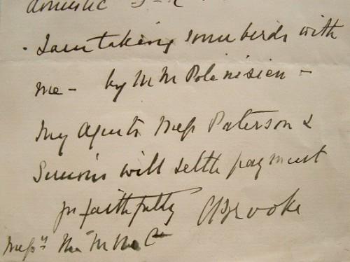"Le Rajah blanc de Sarawak, Charles Brooke, en voyage avec ses oiseaux.. Charles Brooke (1829-1917) ""Rajah blanc"" de Sarawak (Indonésie), succédant à ..."
