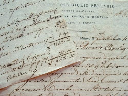 Giulio Ferrario publie l'histoire du costume.. Giulio Ferrario (1767-1847) Historien, imprimeur et bibliothécaire milanais, spécialiste de l'histoire ...