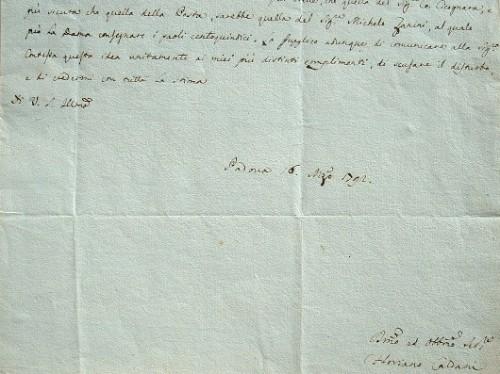 L'anatomiste Floriano Caldani reconnaissant envers la comtesse Aldrovandi.. Floriano Caldani (1772-1836) Anatomiste, physiologiste et naturaliste ...