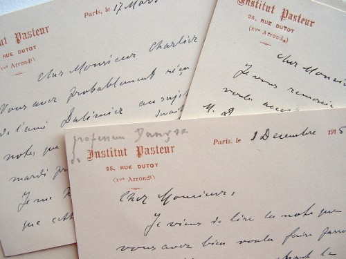 Le biologiste Jan Danysz à l'Institut Pasteur.. Jan Danysz (1860-1928) Biologiste, chercheur de l'Institut Pasteur (1893-1928).