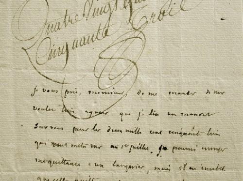 L'économiste et philanthrope Montyon propose un arrangement.. Jean Baptiste Antoine Auget Montyon (baron de) (1733-1820) Philanthrope et économiste.