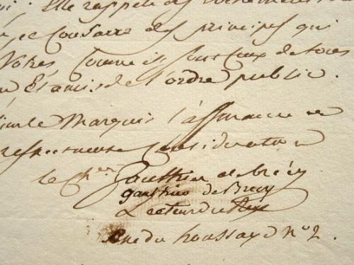 Gauthier de Brécy présente sa brochure au roi.. Charles Edme Gauthier de Brécy (1753-1836) Lecteur du roi, écrivain royaliste, directeur général des ...