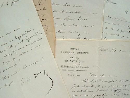 Correspondance d'Eugène Yung à Abraham Dreyfus et Ch. Bigot.. Eugène Yung (1823-1897) Journaliste, directeur de la Revue politique et littéraire ...