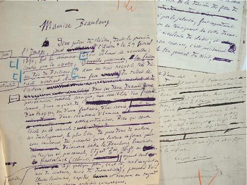 Léopold Lacour défend l'oeuvre sulfureuse de Maurice Beaubourg.. Léopold Lacour (1854-1939) Ecrivain et journaliste au Gil Blas, il fut le défenseur ...
