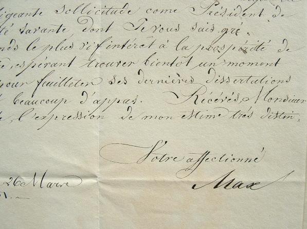 Le roi de Bavière, Maximilien, passionné d'archéologie.. Maximilien II Bavière (de) (1811-1864) Roi de Bavière de 1848 à sa mort.