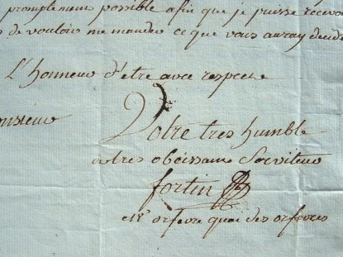 L'orfèvre Jean-Alexandre Fortin met à jour ses commandes..