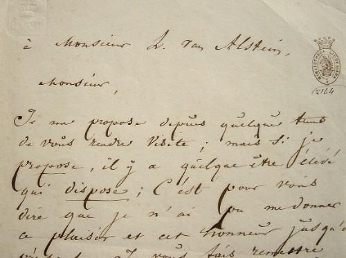 Kesteloot présente ses derniers ouvrages.. Jacob Lodewijk Kesteloot (1778-1852) Médecin et écrivain flamand.