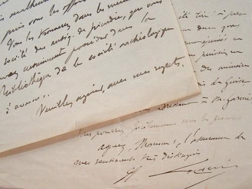 Hippolyte Cocheris évoque son travail sur le cartulaire de Guise.. Hippolyte Cocheris (1829-1882) Erudit, archiviste-paléographe, conservateur de la ...