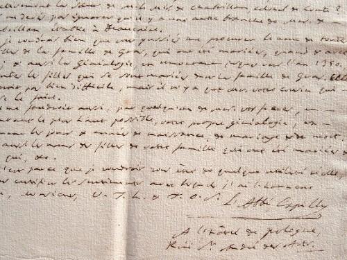 Le géographe Jean Joseph Expilly joue les généalogistes.. Jean-Joseph Expilly (abbé) (1719-1793) Géographe et historien.
