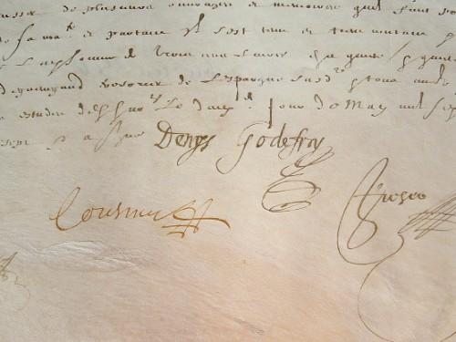 L'historiographe Denis Godefroy rétribué pour plusieurs ouvrages.. Denis II Godefroy (1615-1681) Historiographe du roi, spécialite de la guerre de ...