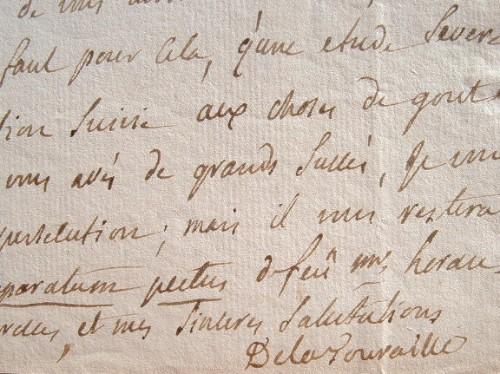 Le comte de La Touraille croit au destin d'Emmery.. Jean Chrysostome La Touraille (Larcher, comte de) (1720-1794) Poète et philosophe, membre des ...