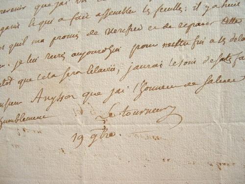Pierre Le Tourneur fait rectifier une erreur.. Pierre Le Tourneur (1737-1788) Ecrivain et traducteur, il est le premier traducteur du théâtre de ...