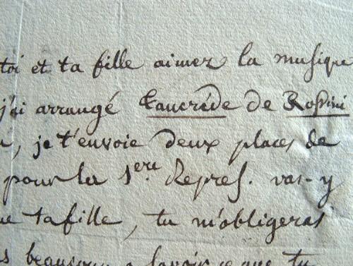 Le Mière de Corvey arrange la musique de Rossini.. Jean Frédéric Auguste Le Mière de Corvey (1771-1832) Compositeur d'opéras et de musique pour piano ...