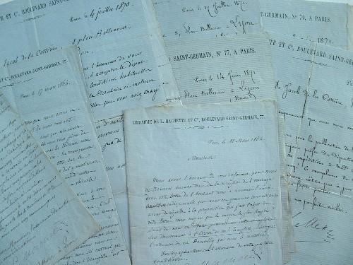 Louis Hachette propose la vente des livres dans les gares.. Louis Hachette (1800-1864) Editeur, fondateur de la maison d'édition qui porte son nom.