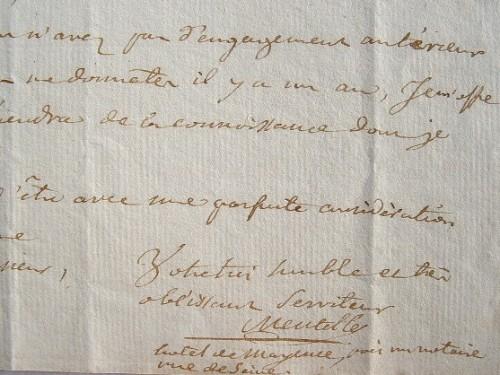 Le géographe Mentelle propose ses services pour l'Encyclopédie Panckoucke.. Edme Mentelle (1730-1815) Géographe et historien, membre de l'Institut, ...