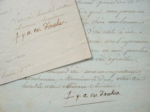 Marbeuf, l'évêque d'Autun, attend des circonstances favorables.. Yves Alexandre Marbeuf (de) (1734-1799) Evêque d'Autun (1767-1788) puis archevêque de ...