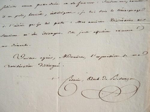 Une intervention du cardinal Mathieu, archevêque de Besançon.. Césaire Mathieu (1796-1875) Evêque de Langres (1832), archevêque de Besançon (1834) ...