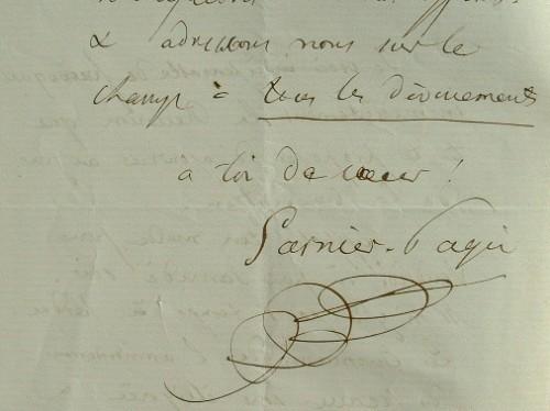Garnier-Pagès met en place sa stratégie électorale.. Louis Antoine Garnier-Pagès (1803-1878) Homme politique et historien.