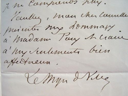 Le député de Cochinchine, Le Myre de Vilers, désabusé.. Charles Le Myre de Vilers (1833-1918) Premier gouverneur civil de Cochinchine (1879-1883), il ...