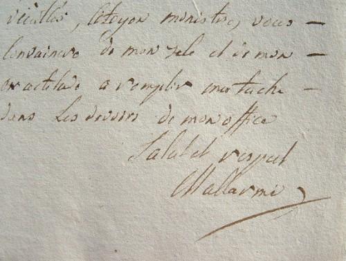 Le conventionnel Mallarmé fait condamner des faux-monnayeurs.. François René Auguste Mallarmé (1755-1835) Conventionnel régicide de la Meurthe, ...
