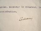 Delcassé refuse une mission diplomatique en Italie.. Théophile Delcassé (1852-1923) Député de l'Ariège sous la IIIe République, ministre à plusieurs ...