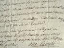 Alexandre de Lameth s'occupe des affaires du duc de Broglie.. Alexandre Lameth (de) (1760-1829) Député aux Etats généraux et général d'Empire ; il ...