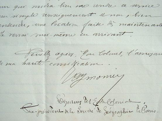 Etienne Aymonier annonce sa participation au congrès de géographie.. Etienne Aymonier (1844-1928) Linguiste et administrateur colonial, spécialiste de ...