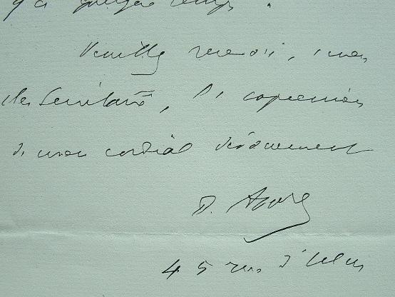 Paul Appell s'installe rue d'Ulm.. Paul Emile Appell (1855-1930) Mathématicien.