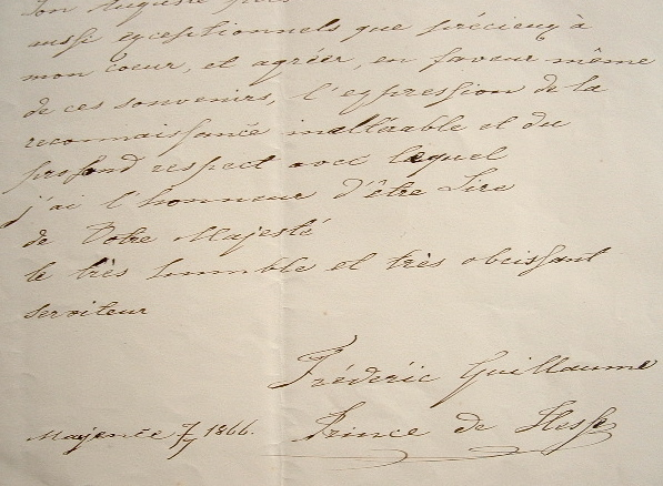 Frédéric-Guillaume 1er de Hesse-Cassel en appelle à Napoléon III.. Frédéric-Guillaume 1er Hesse-Cassel (de) (1802-1875) Prince de Hesse, électeur de ...
