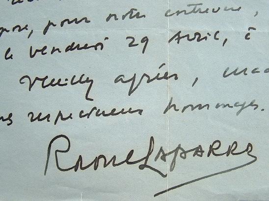 Raoul Laparra cherche une interprète pour ses mélodies.. Raoul Laparra (1876-1943) Compositeur, premier Grand Prix de Rome (1903), auteur de plusieurs ...
