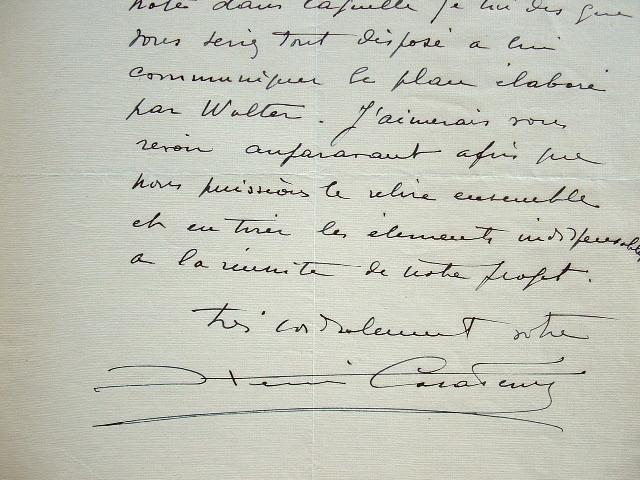 Henri Casadesus échafaude un plan.. Henri Casadesus (1879-1947) Altiste et compositeur, co-fondateur de la Société des instruments anciens. Avec ses ...