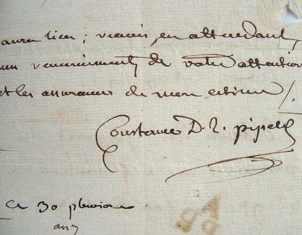 Constance de Pipelet dément être l'auteur de vers.. Constance de Théis Salm-Dyck (princesse de) (1767-1845) Poétesse et femme de lettres.