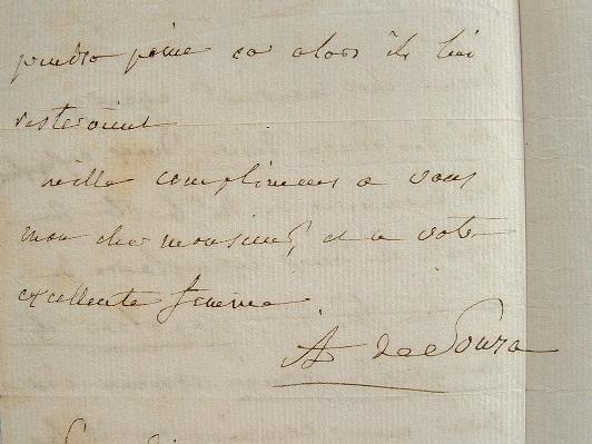 La romancière Adélaïde de Souza passe commande.. Adélaïde Souza (Flahaut de la Billarderie, marquise de) (1761-1836) Femme de lettres, maîtresse de ...