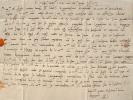 Lettre de 1504 au grand podestat d'Este..