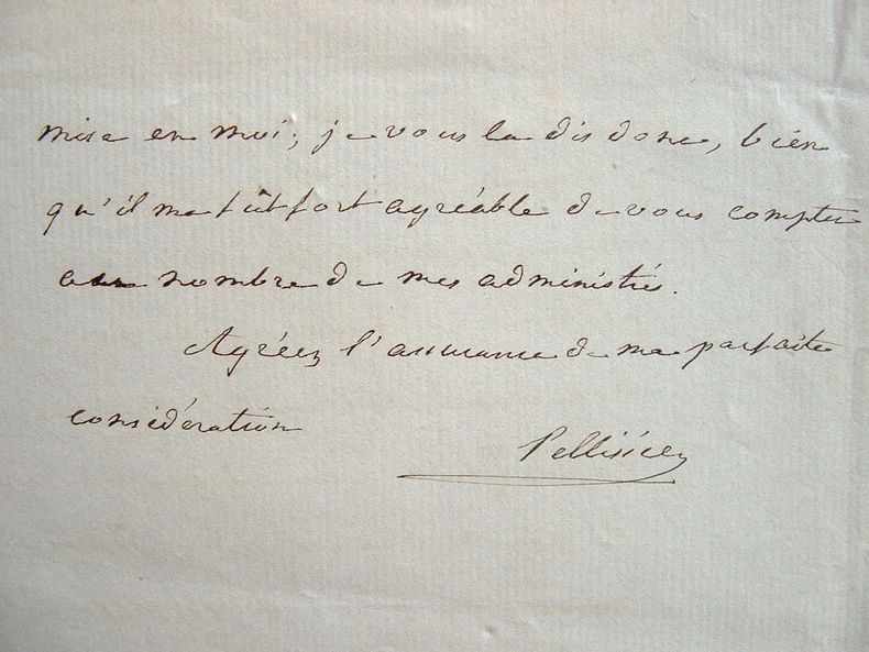Pellissier et les médecins de Tripoli.. Eugène Pellissier de Reynaud (1800-1858) Diplomate, historien du monde arabe, chef du bureau à Alger.