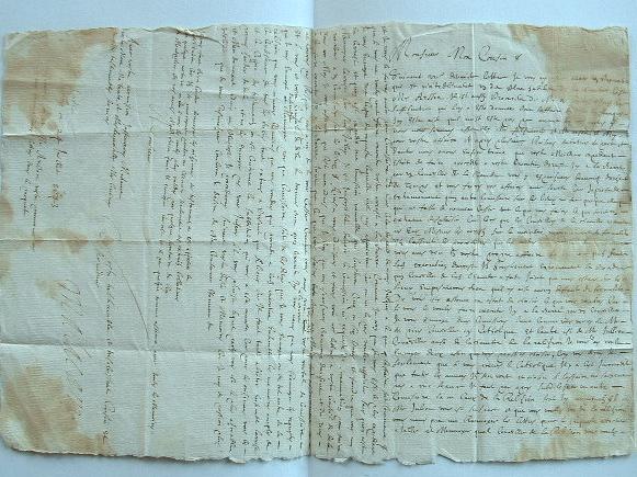 Lettre de Castres de 1643..