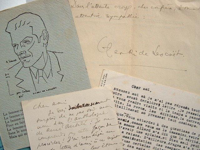Henri de Lescoët témoin de la discordance entre poètes durant l'Occupation.. Henri de Lescoët (1906-2001) Poète comorien, il s'installe très tôt à ...
