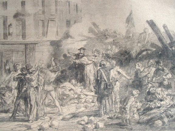25 juin 1848 : Mgr Affre meurt sur les barricades.. Denys Affre (Mgr) (1793-1848) 126e archevêque de Paris, il s'intéresse tout particulièrement à la ...