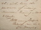 Le géographe anglais Edward Wedlake Brayley indisposé.. Edward Wedlake Brayley (1773-1854) Géographe et antiquaire anglais.