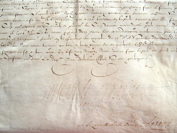 La princesse de Conti, maîtresse d'Henri IV, touche les émoluments de son défunt mari.. Louise Marguerite Lorraine (de), princesse de Conti ...