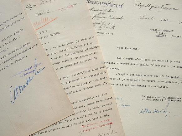 Emmanuel Bondeville dicte les conditions de la Radiodiffusion française.. Emmanuel Bondeville (1898-1987) Compositeur, secrétaire perpétuel de ...