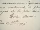 Les remerciements de la danseuse espagnole Rosita Mauri.. Rosita Mauri (1849-1923) Danseuse espagnole, modèle de Degas ; elle fit toute sa carrière à ...