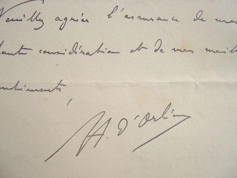 Henri d'Orléans. Visite au président de la République.. Henri Orléans (d') (1867-1901) Fils du duc de Chartres. Explorateur de l'Asie et de l'Afrique ...