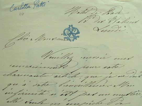 """La soprano Carlotta Patti ne fait plus mystère de son infirmité.. Carlotta Patti (1835-1889) Soprano italienne, soeur d'Adelina (""""la Patti"""")."""