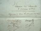 Le jury du Théâtre Royal de l'Odéon se réunit.. François Guillaume Jean Stanislas Andrieux (1759-1833) Poète, tragédien, secrétaire perpétuel de ...