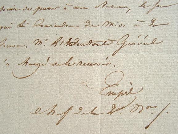 L'académicien Empis administrateur de la Maison du Roi.. Adolphe Empis (Simonis dit) (1795-1868) Auteur dramatique, administrateur général de la ...