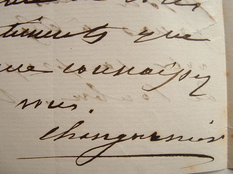Général Changarnier. Lettre à un maréchal.. Nicolas Anne Théodule Changarnier (1793-1877) Général et homme politique.